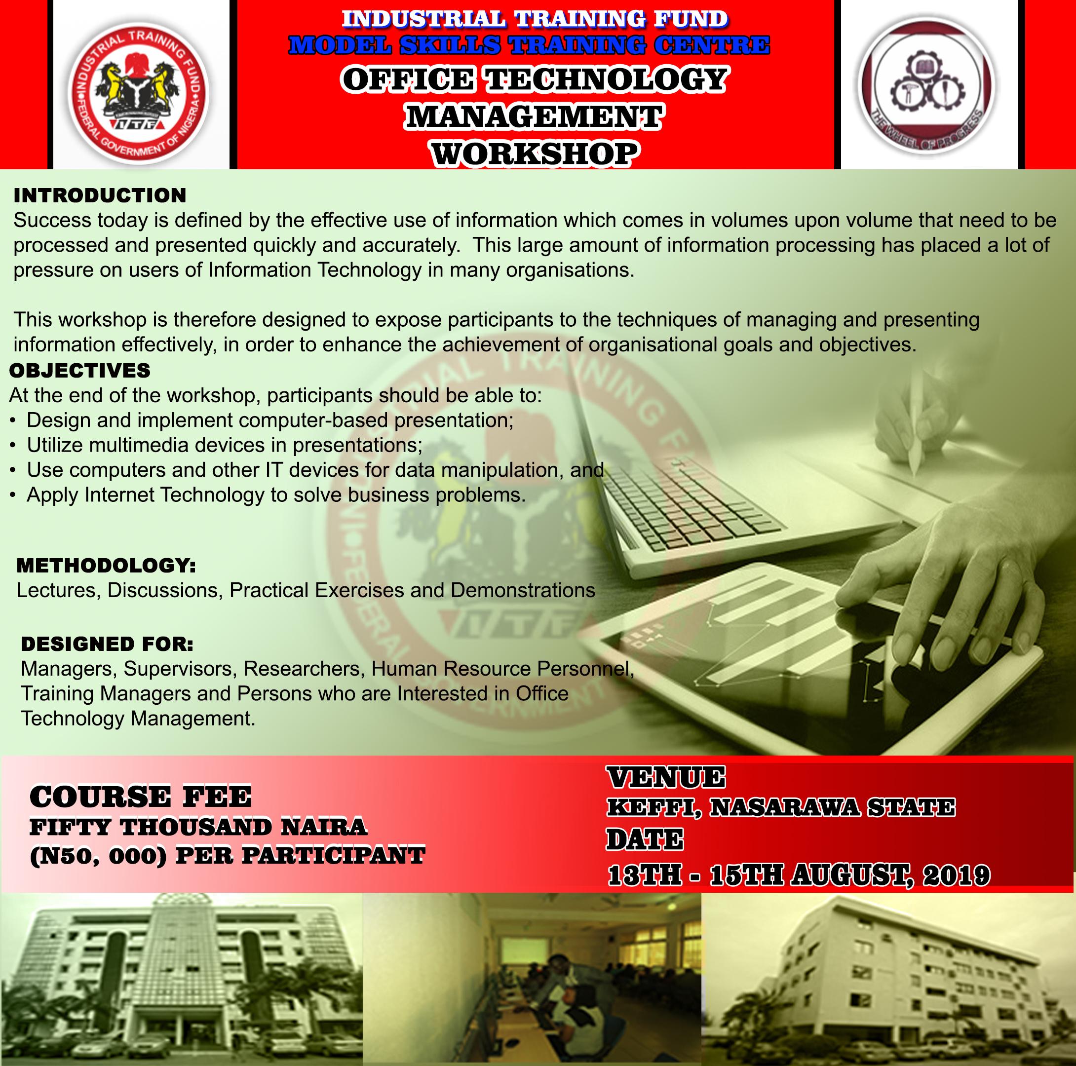 ITF :: Industrial Training Fund, Nigeria